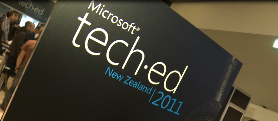 Welcome to NZ's Premier IT Conference – Tech.Ed 2011