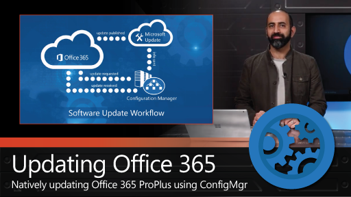 Update Office 365 ProPlus with native ConfigMgr controls