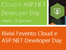 Italy Cloud e ASP .NET Developer Day