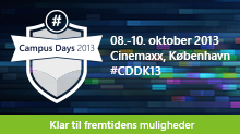 Microsoft Campus Days 2013