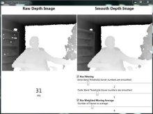 Kinect Depth Smoothing, updated for Kinect for Windows SDK v1.7