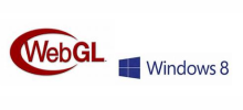 WebGL to Windows 8