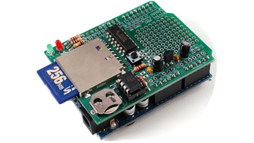 Using the Adafruit Arduino Logger Shield on a Netduino