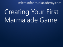 Creating Your First Marmalade Game
