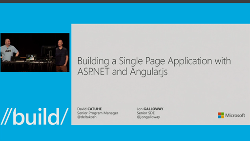 Building a Single Page Application with ASP.NET and AngularJS