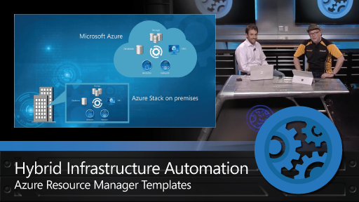 Hybrid Infrastructure Automation with Azure Resource Manager Templates