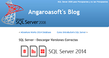 SQL Server – Descargar Versiones Correctas