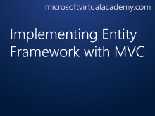 Implementing Entity Framework with MVC