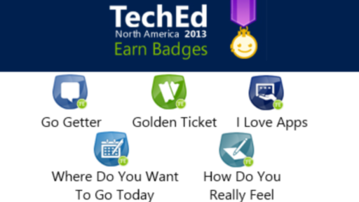 Announcing TechEd Achievements