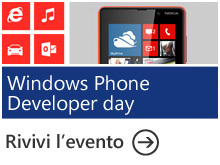 Windows Phone 8 Developer Day Italy