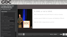 Vaulting into game dev presentations with the GDC Vault