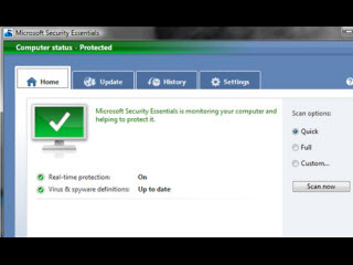 Mind Your Own Business, With Microsoft Security Essentials
