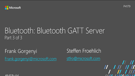 Bluetooth: Bluetooth GATT Server - Part 3 of 3