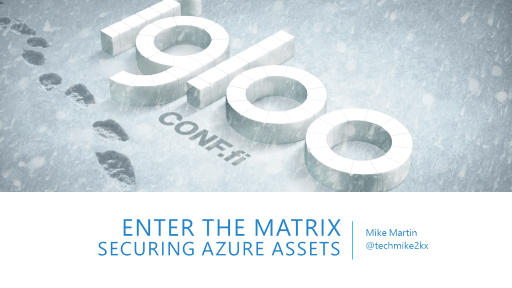 Enter the Matrix: Securing Azure's assets