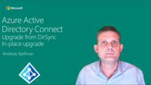 Azure Active Directory Connect: in-place upgrade from legacy tools