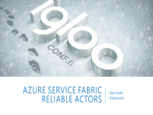 Azure Service Fabric Reliable Actors