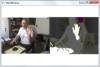 Kinect for Windows SDK color and depth streams example
