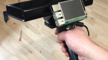 Raspberry Pi 2 and the Kinect, Making a Hand Held Scanner
