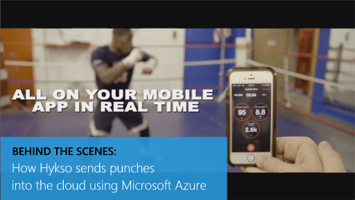 Behind the Scenes: How Hykso sends punches into the cloud using Microsoft Azure