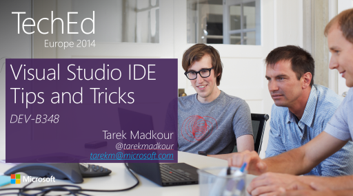 Visual Studio IDE Tips and Tricks