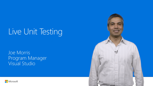 Live Unit Testing in Visual Studio 2017