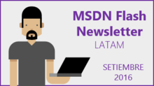 MSDN Flash - Setiembre 2016