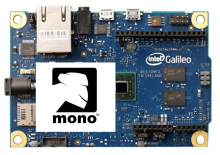 Mono on the Intel Galileo