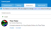 Hello VSO - Extending Visual Studio Online