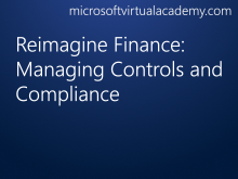 Reimagine Finance: Managing Controls and Compliance