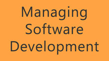 Managing Software Development