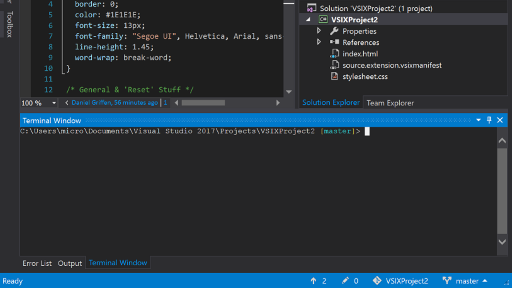 Whack Whack Terminal for Visual Studio