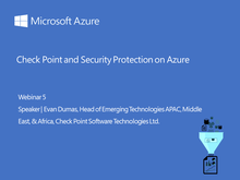 Webinar 5: Check Point and Security Protection on Azure