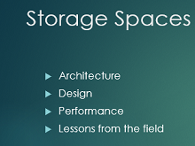 Storage Spaces Deep Dive