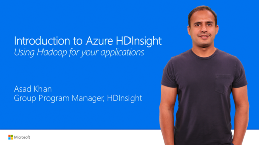 Introduction to Azure HDInsight – using Hadoop with your applications