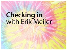 Checking In with Erik Meijer