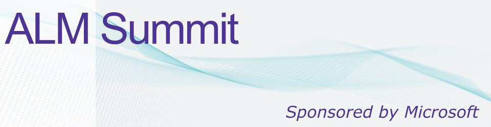 ALM Summit: Expertise Worth Sharing