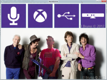Green Screen and the Kinect - You and the Rolling Stones...