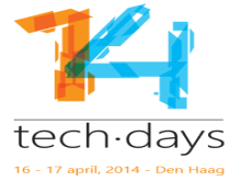 Techdays 2014 the Netherlands