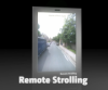 Strolling with the Kinect, remotely