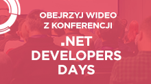 NET DeveloperDays 2015 on-demand