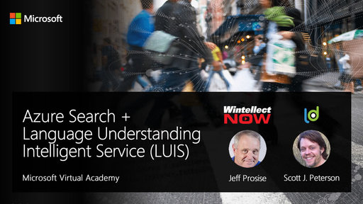 Module #5: Azure Search + Language Understanding Intelligent Service (LUIS)