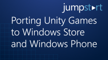 Porting Unity Games to Windows Store and WindowsPhone
