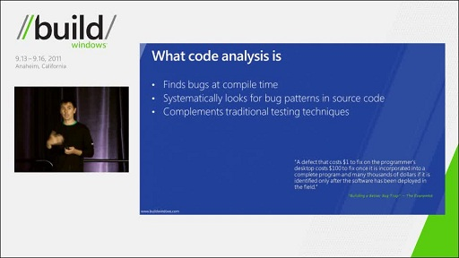 Improving software quality using Visual Studio 11 C++ Code Analysis