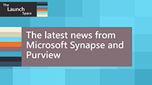 The latest news from Microsoft Synapse and Purview