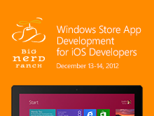 Windows Store App Development for iOS Developers