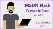MSDN Flash - Setiembre 2015