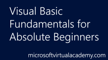 Visual Basic Fundamentals for AbsoluteBeginners