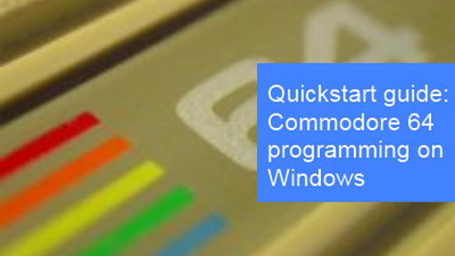 C64ForTheWin - C64 Development on your Windows Machine