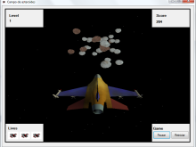 Asteroids, C#, 3D and OpenGL