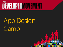 Developer Movement App Design Camp